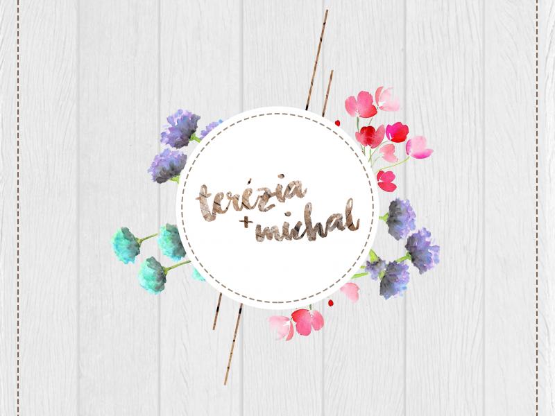 Svadobné logo