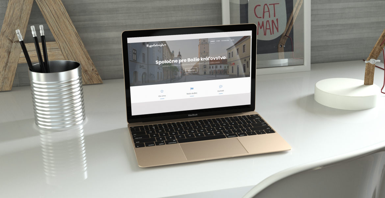Web pre platformu spoločenstiev